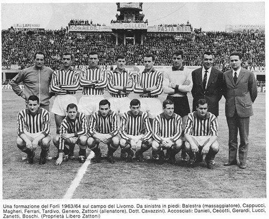 Forlì Football Club - Squadra stagione 1963 / 1964