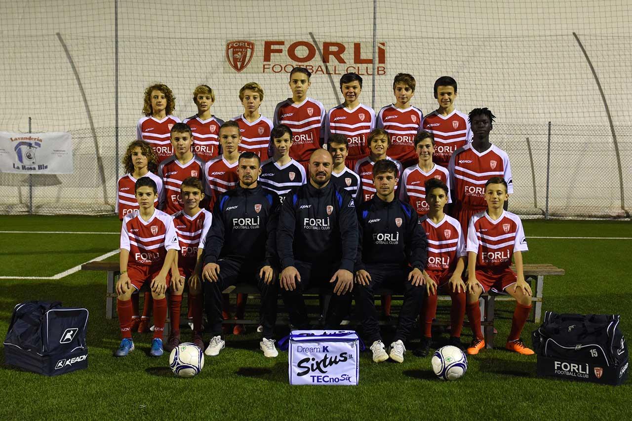 Formazione Forlì FC Esordienti 2007