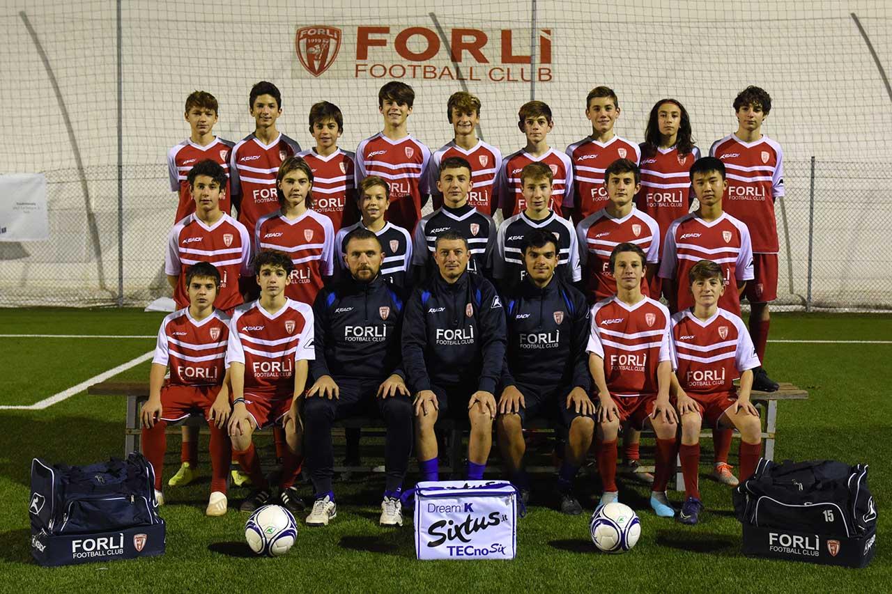 Formazione Forlì FC Giovanissimi Bianca