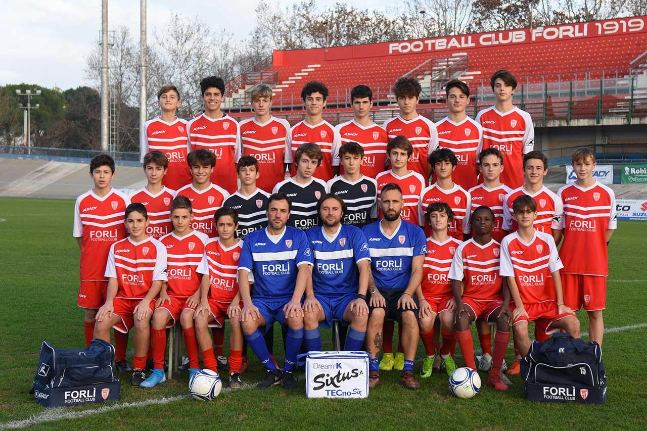Formazione Forlì FC Giovanissimi Under 15 Elite