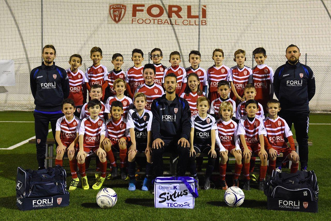 Formazione Forlì FC Primi Calci