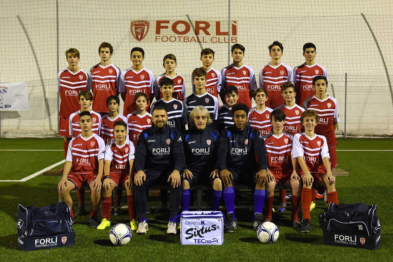 Formazione Forlì FC Giovanissimi Rossa